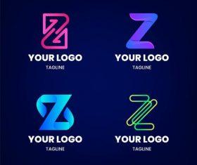Your z logo design vector