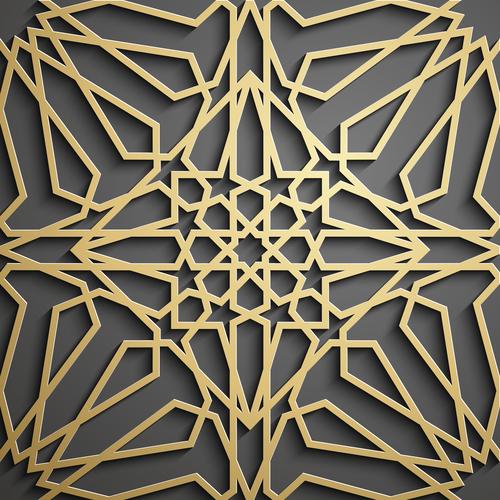 Amazing art pattern background vector