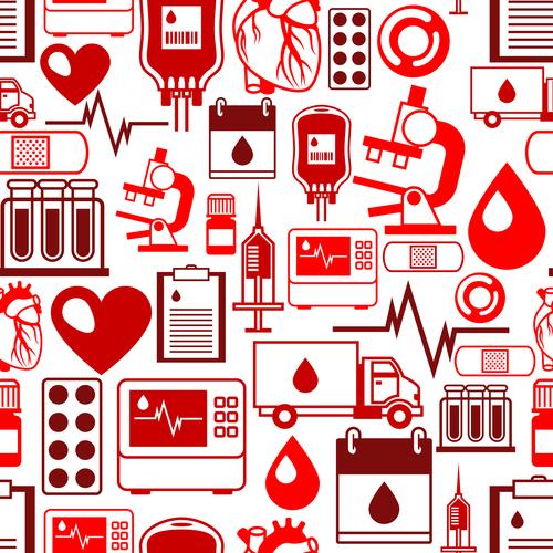 Background health element vector
