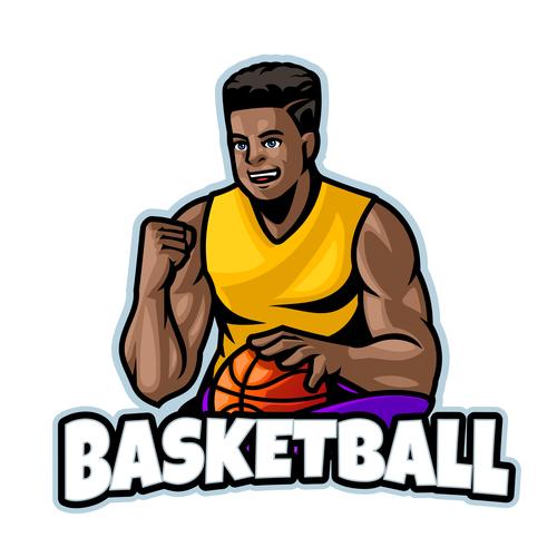 Basketball Logo design template vector
