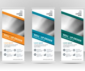 Business cover vertical banners vector