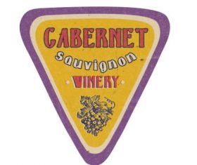 Cabernet label vector
