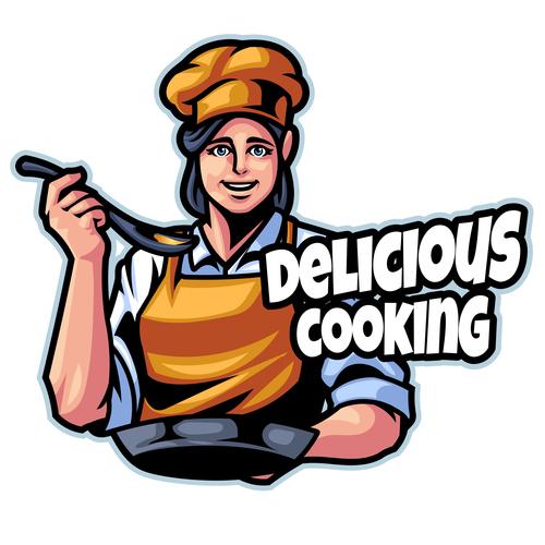 Chef Logo design template vector