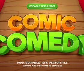 Comic comedy cartoon style 3d vector