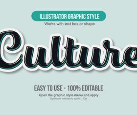Culture illustrator graphic style vector
