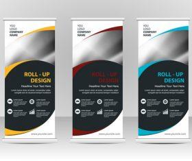 Design vertical business banners vector