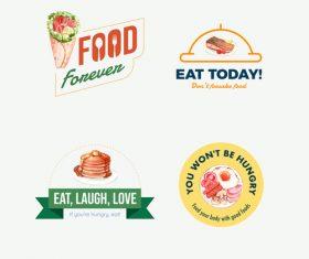 Eat today vector