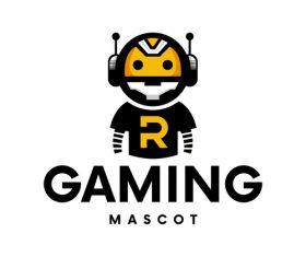 Gaming mascot logo vector