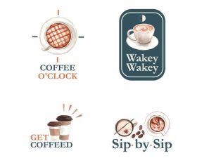 Get coffee vector