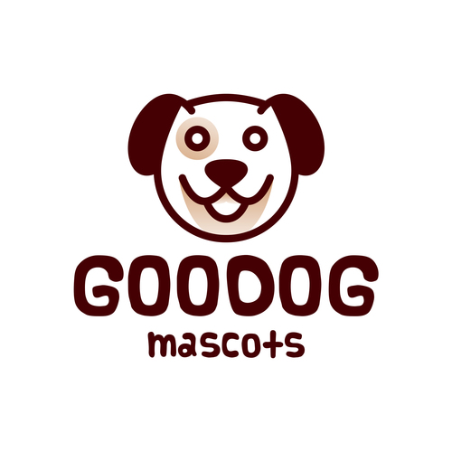 Goodos mascofs logo vector