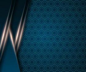 Honeycomb dark blue vector background