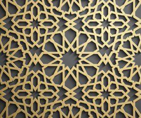 Irregular pattern decoration background vector