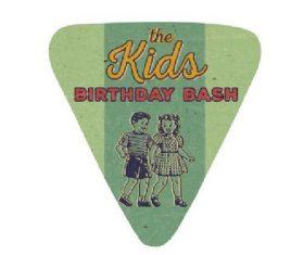 Kids birthday bash vector