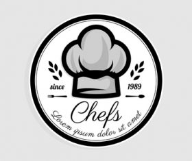 Logo chefs vector