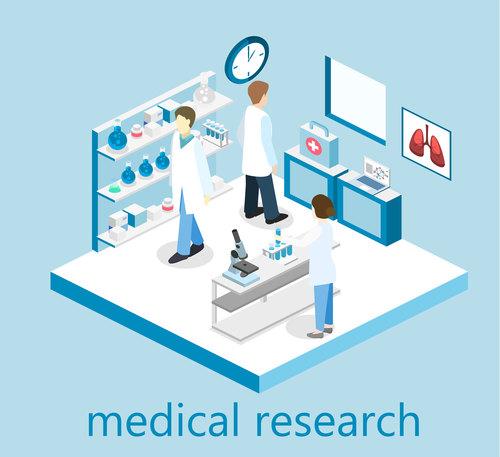 Pharmacy cartoon illustration vector