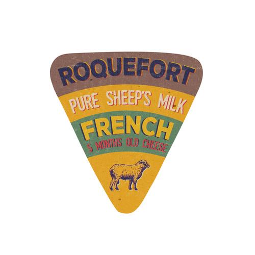 Pure sheeps milk label vector