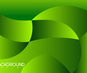 Puzzle green background vector