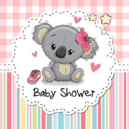Baby show cartoon illustration vector