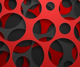 Black red art background vector