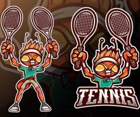 Tennis logo vector