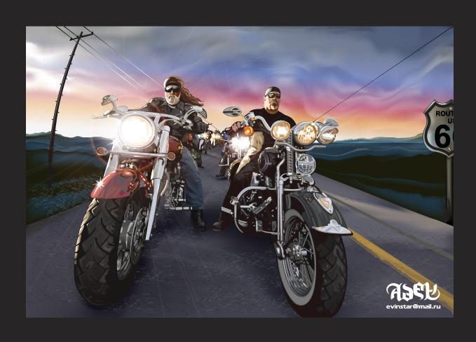 Harley Owners vector