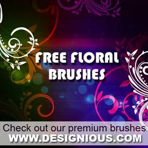 Free floral photoshop Photoshop Brushes
