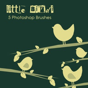 Little Birdi Photoshop Brushes