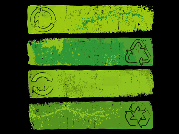 Nostalgic environmental background Vector graphic