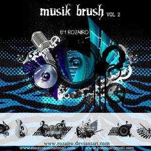 Musik Photoshop Brushes
