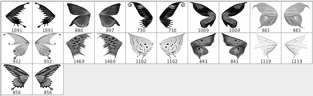 Pennelli free per Photoshop - farfalle